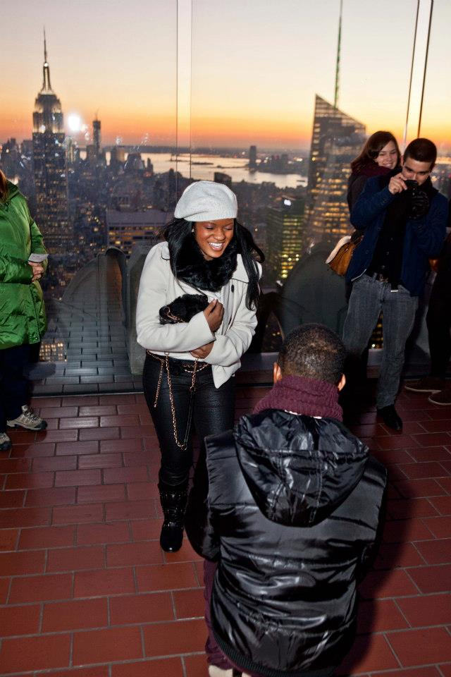Image 9 of Top of the Rock Proposal | Rayne' and Errol