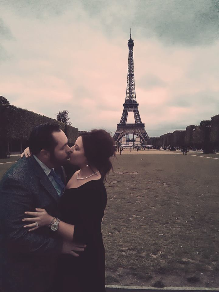 Image 4 of Ashlee and Rick | Eiffel Tower Marriage Proposal
