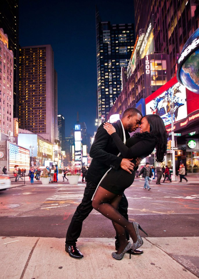 Image 1 of Top of the Rock Proposal | Rayne' and Errol