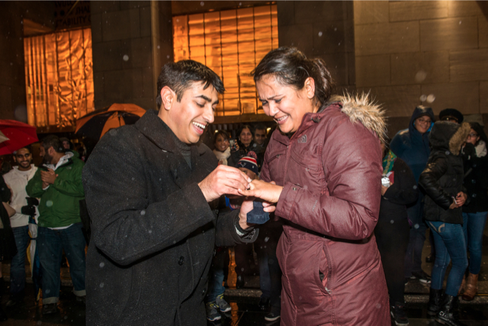 Image 11 of A surprise scavenger hunt proposal | Amit and Kinal