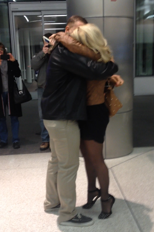 Image 6 of Gabrielle and Christian | Airport Proposal