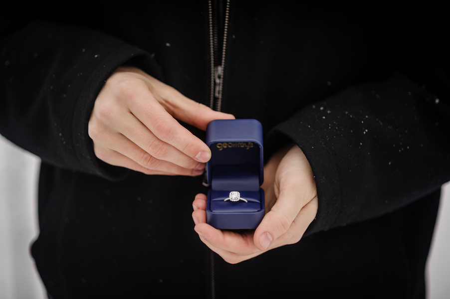 Image 18 of A Snowy Proposal in Chicago