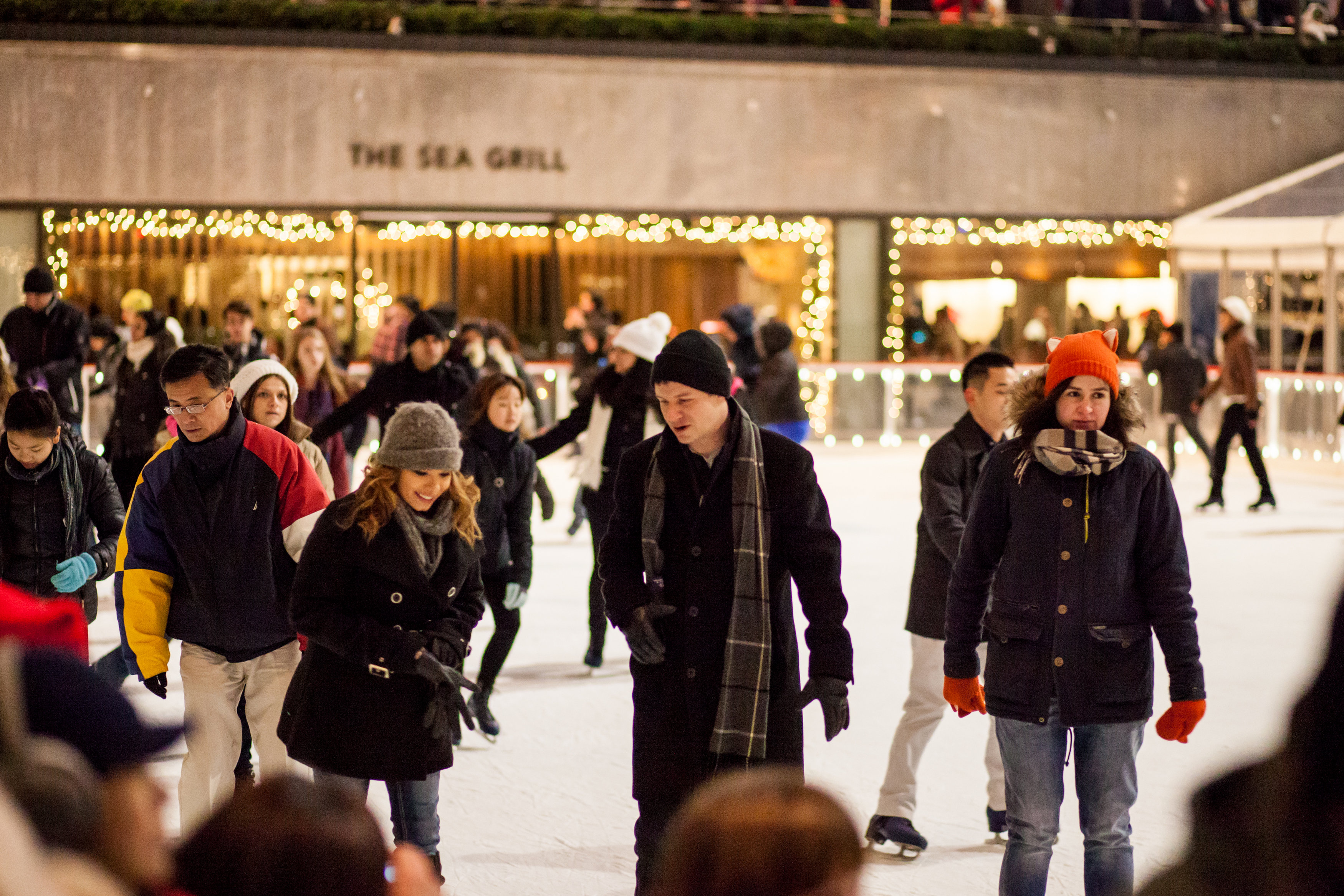 Image 11 of Christmas Day Proposal at Rockefeller Plaza
