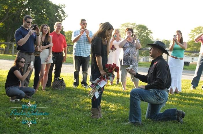 Image 3 of Erika and Kyle's Cowboy Proposal