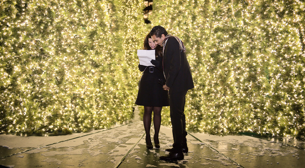 Image 3 of Christmas Eve Marriage Proposal
