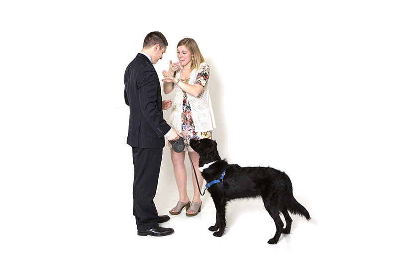 Image 9 of Family Photoshoot (Dog Too!) Turns into Marriage Proposal