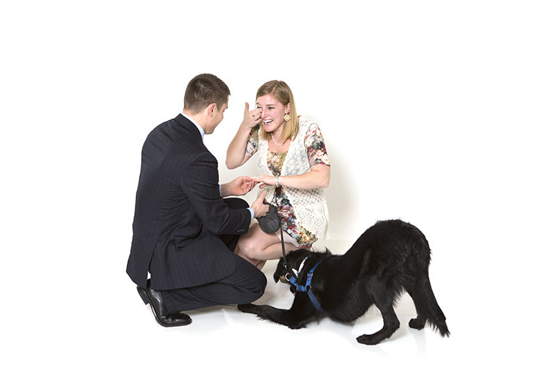 Image 8 of Family Photoshoot (Dog Too!) Turns into Marriage Proposal