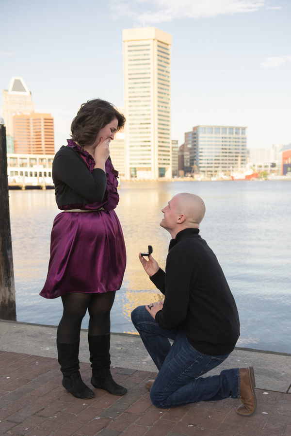 Image 4 of Baltimore Harbor Marriage Proposal