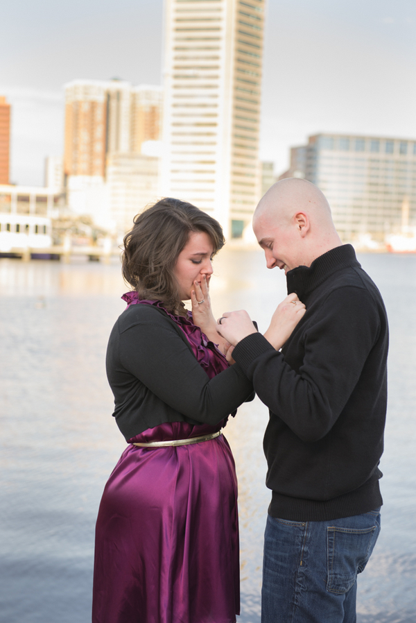 Image 5 of Baltimore Harbor Marriage Proposal