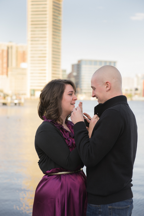 Image 7 of Baltimore Harbor Marriage Proposal