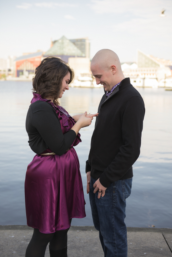Image 6 of Baltimore Harbor Marriage Proposal