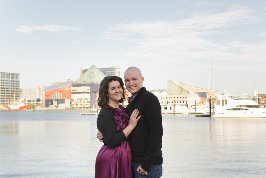 Image 1 of Baltimore Harbor Marriage Proposal