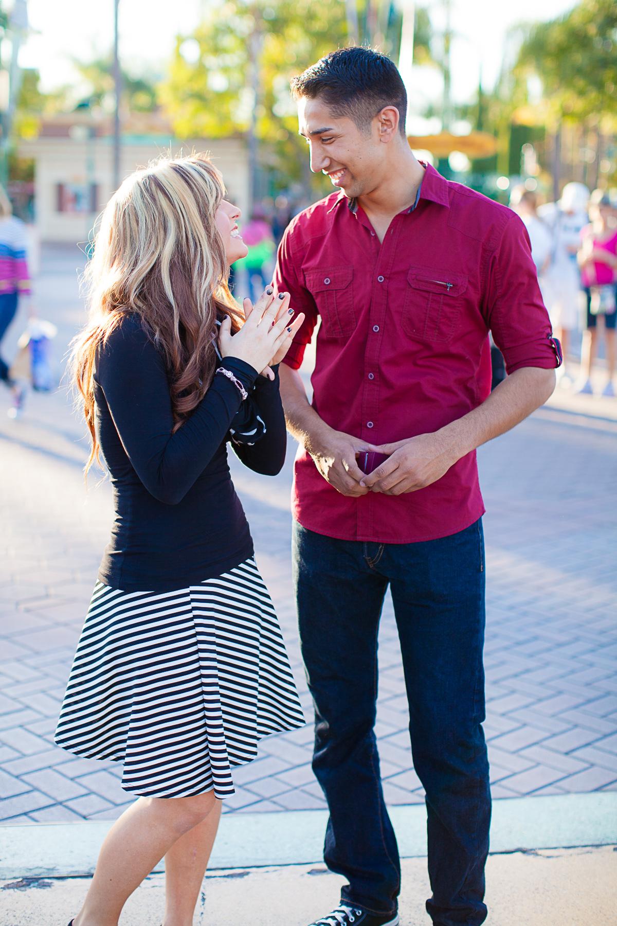 marriage proposal at disney