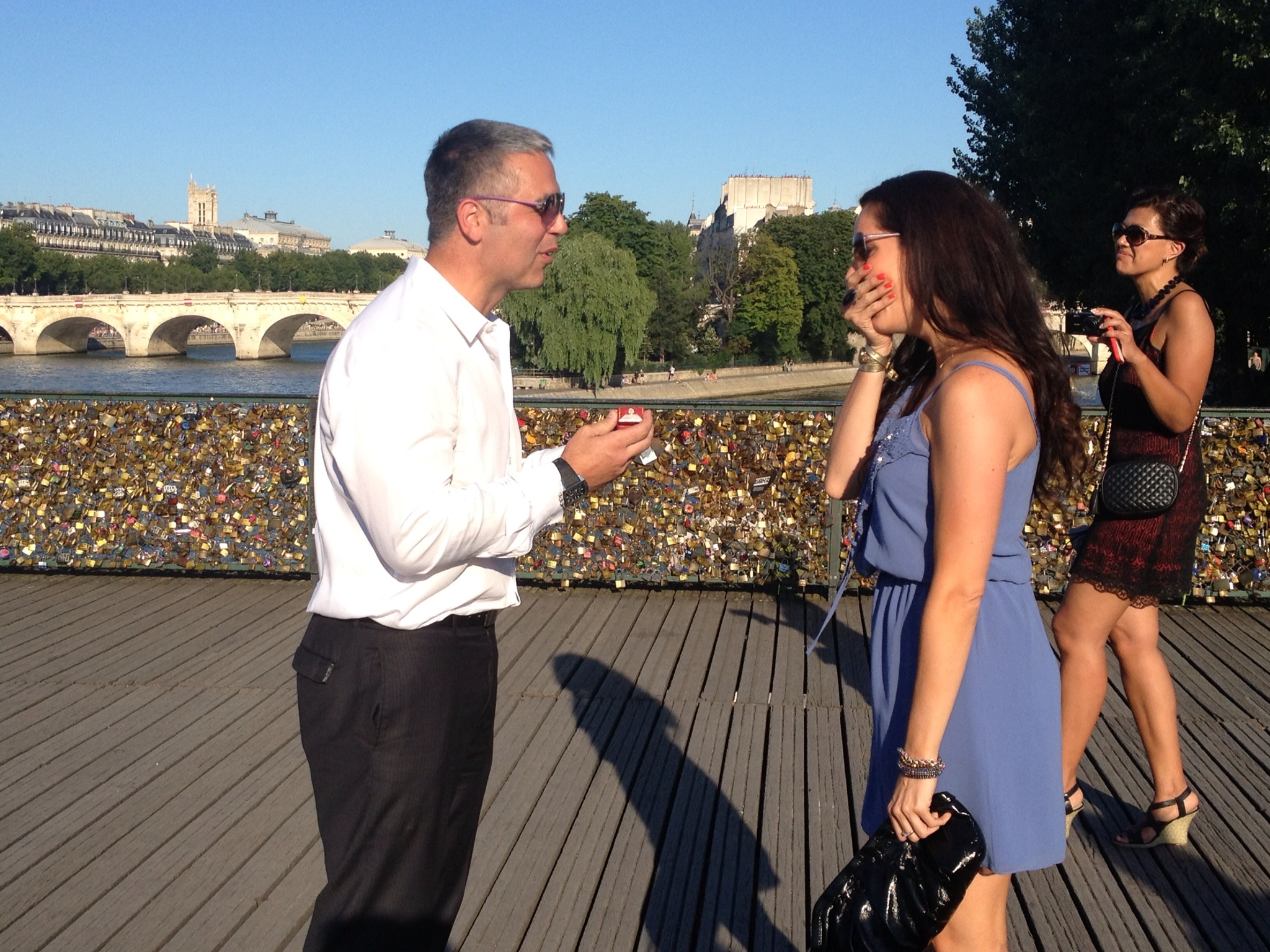 Image 3 of Erica and Doug | Proposal in Paris