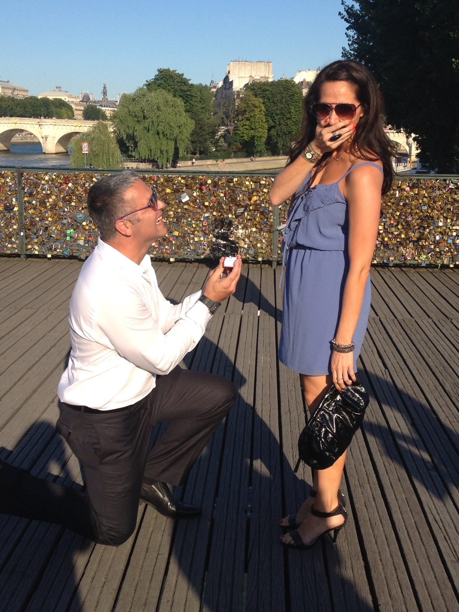 Image 4 of Erica and Doug | Proposal in Paris