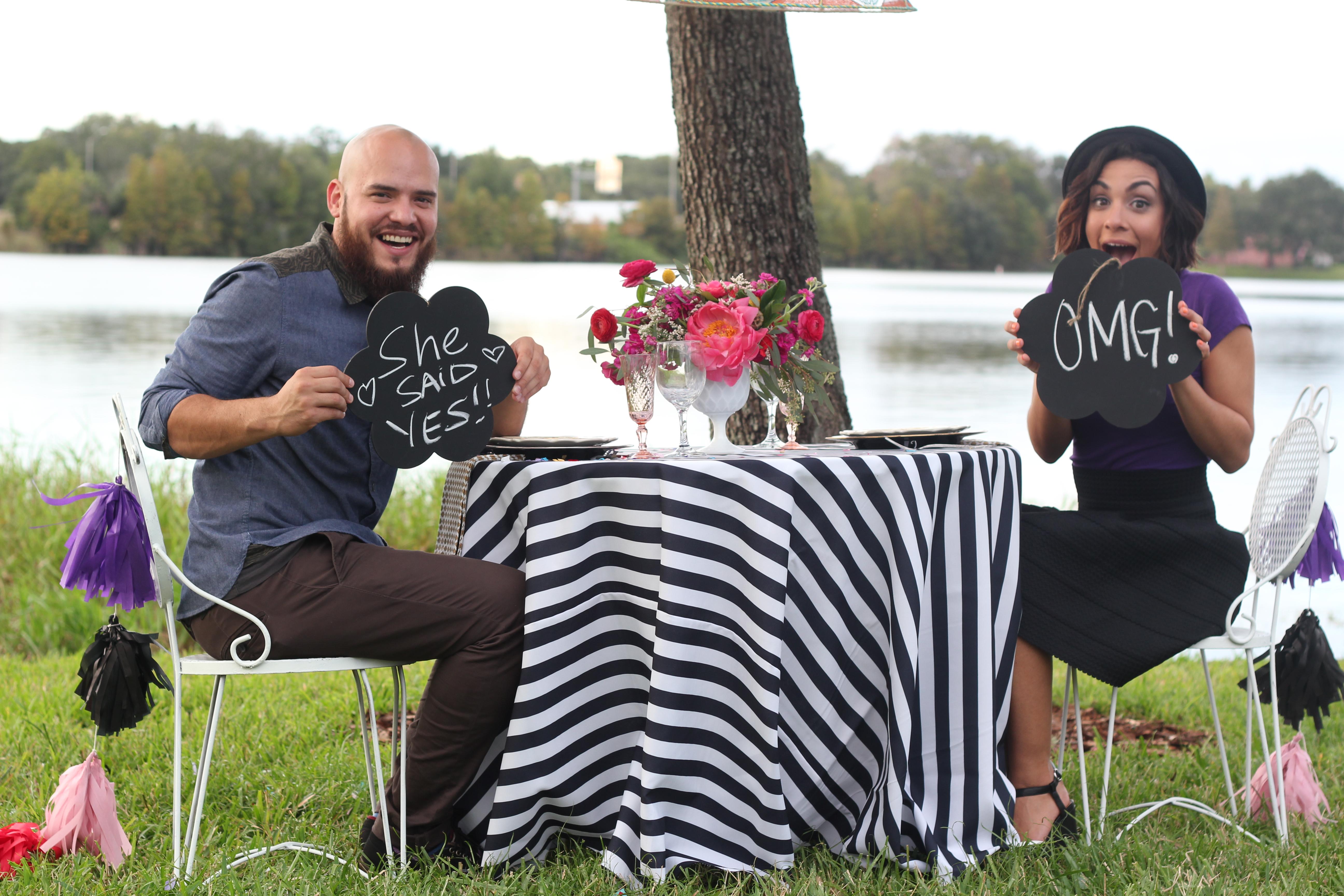 Image 2 of Laudys & John | Surprise Styled Proposal