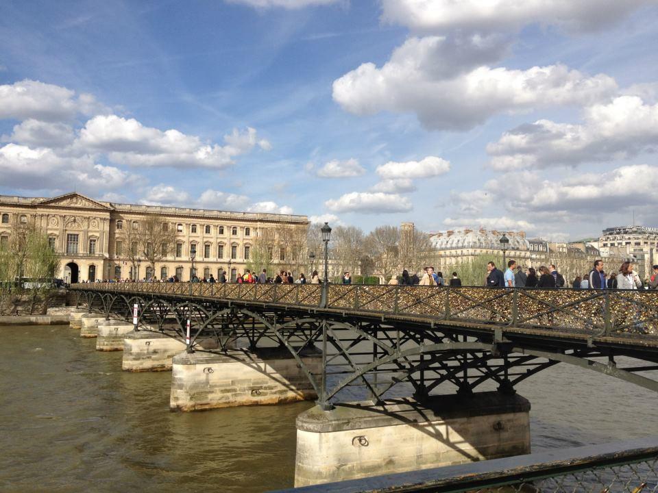 Image 1 of Love Lock Bridge Proposal in Paris