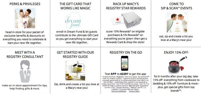 Macy's Registry and Wedding Shop
