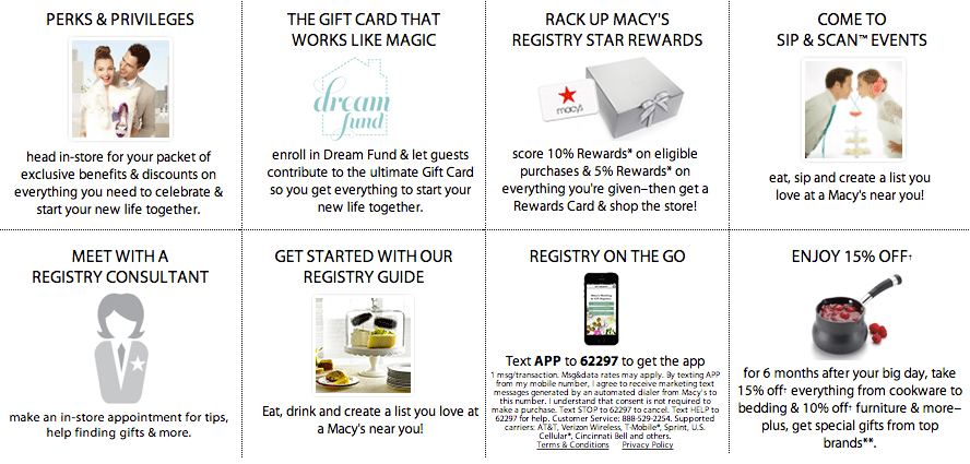 Image 5 of Why Macy's is Your Wedding's Best Friend