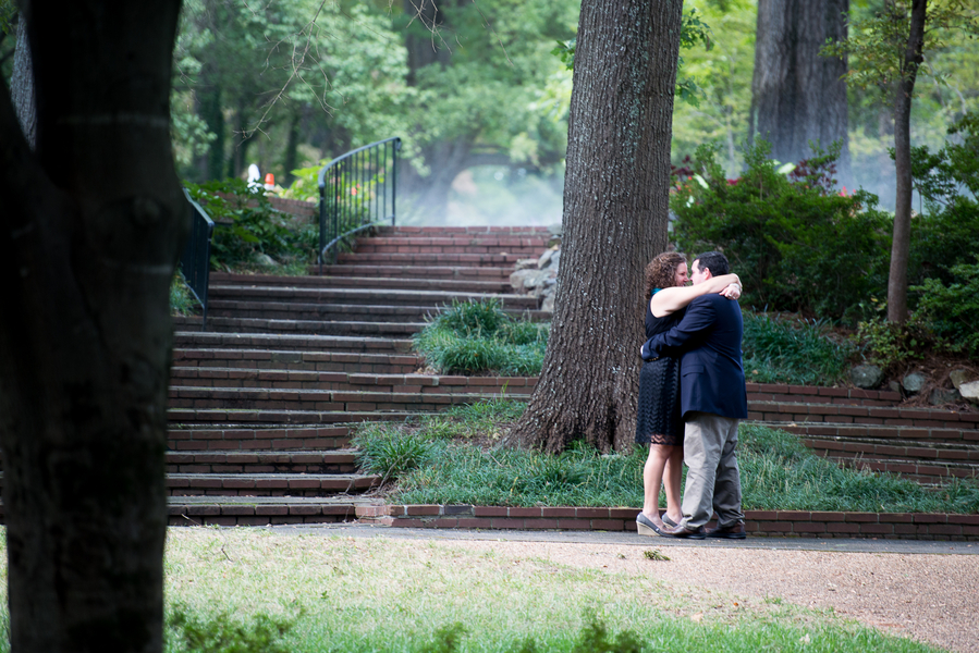 Image 1 of Leigh and Phillip | Gorgeous Garden Proposal