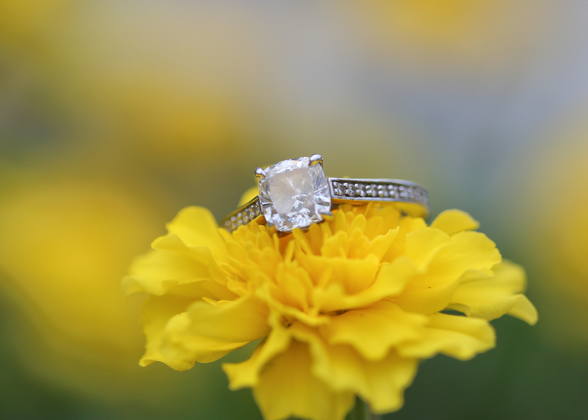 Image 1 of Engagement Ring Photography