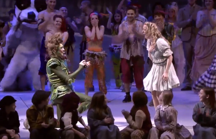 Peter Pan Proposal in Glasgow