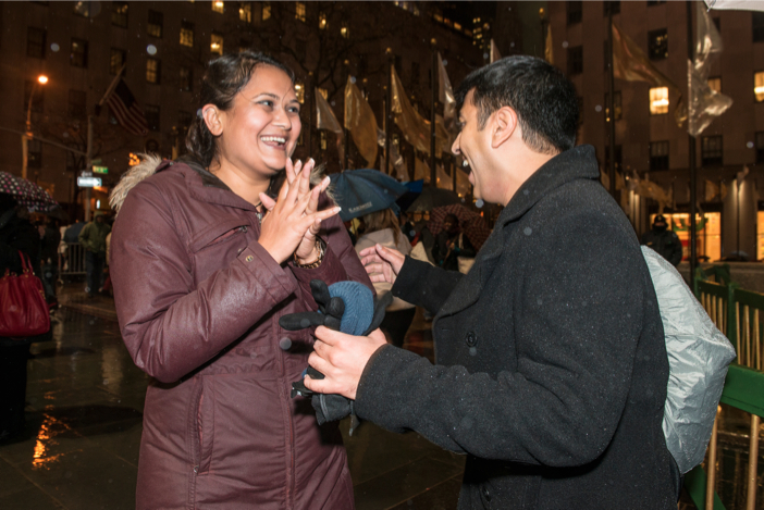 Image 2 of A surprise scavenger hunt proposal | Amit and Kinal