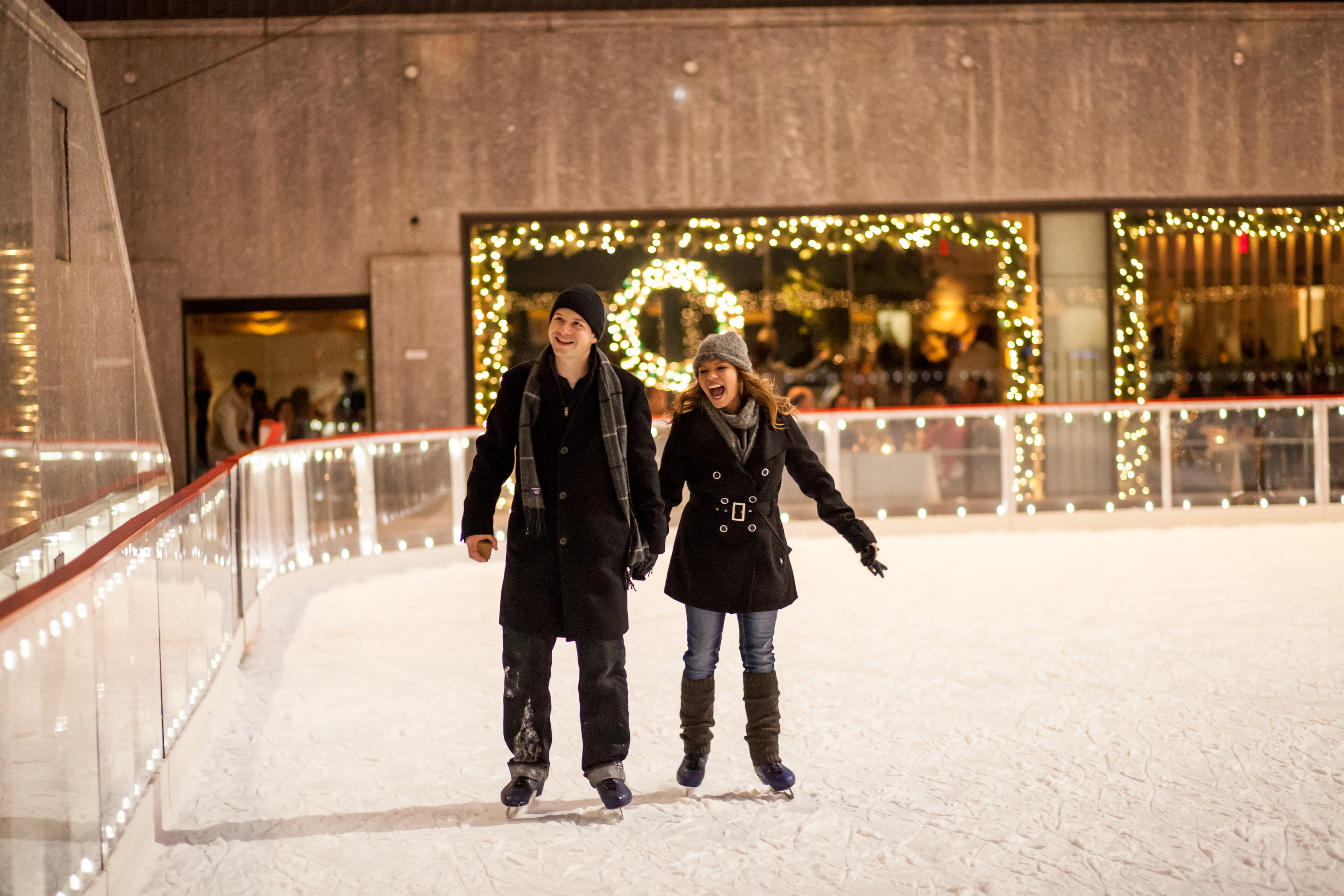 Image 9 of Christmas Day Proposal at Rockefeller Plaza