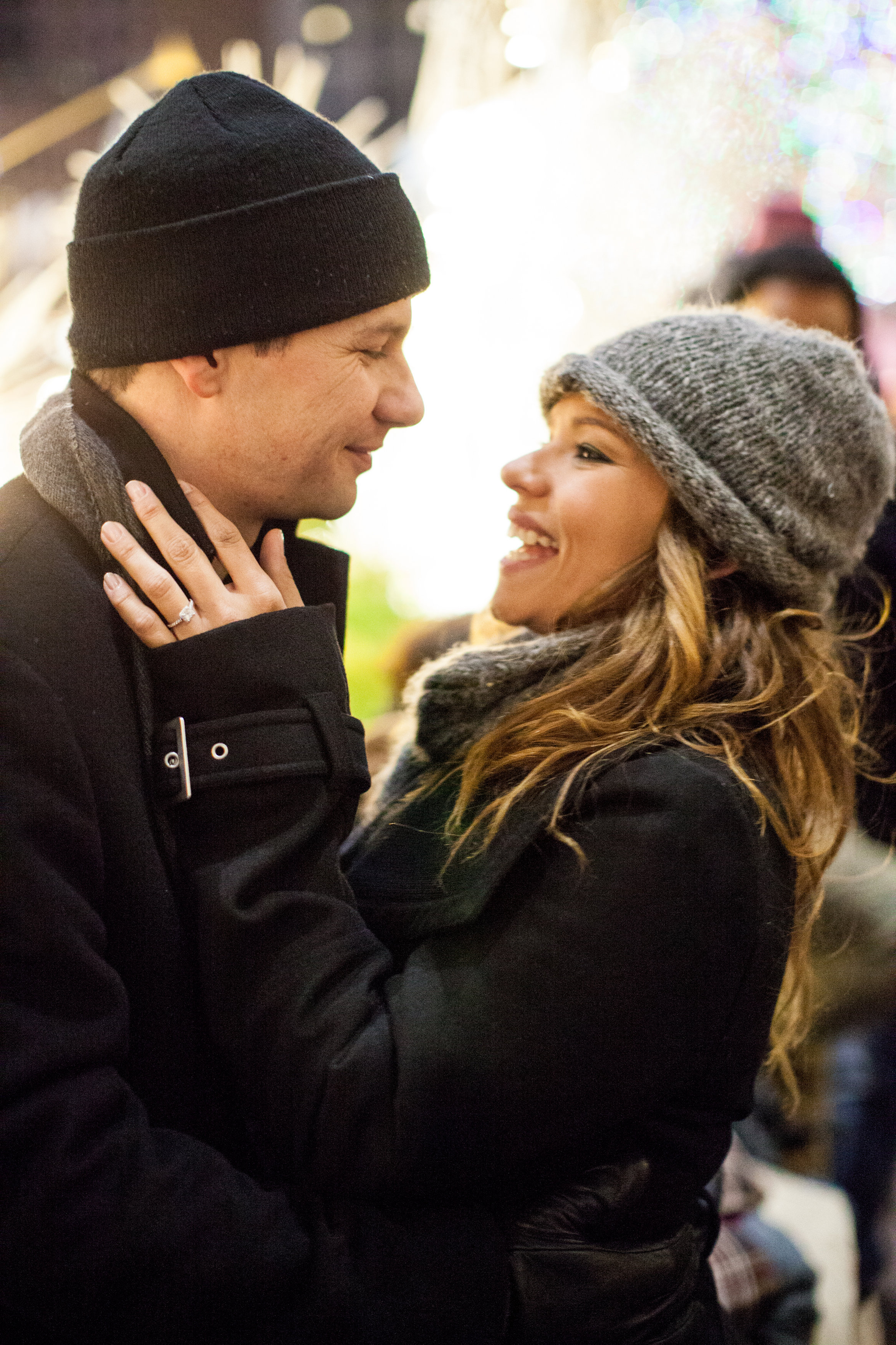 Image 12 of Christmas Day Proposal at Rockefeller Plaza