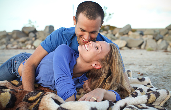 Image 3 of Beach Engagement Shoot | Blaine and Taylor