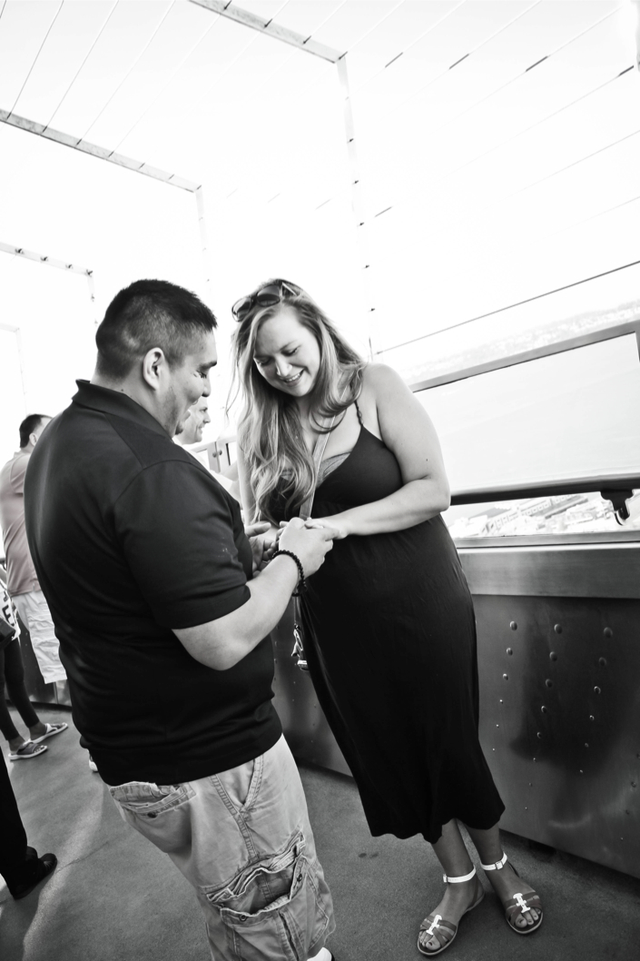 Image 10 of Colette and Ross | Proposal at the Seattle Space Needle