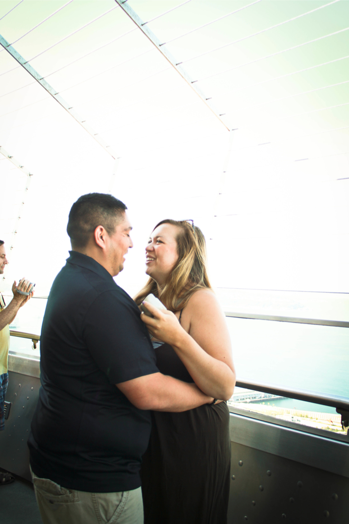 Image 3 of Colette and Ross | Proposal at the Seattle Space Needle