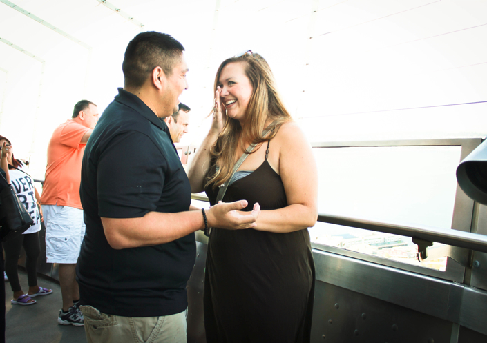 Image 7 of Colette and Ross | Proposal at the Seattle Space Needle