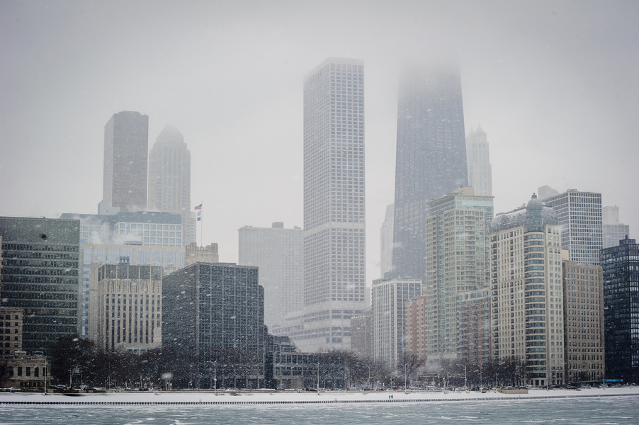 Image 2 of A Snowy Proposal in Chicago