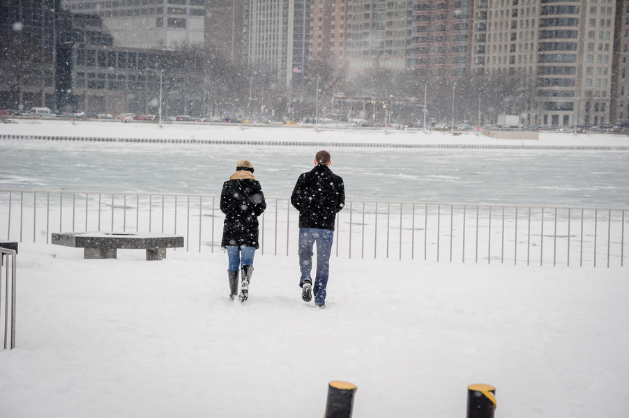 Image 3 of A Snowy Proposal in Chicago