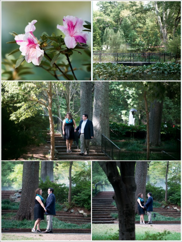 Image 10 of Leigh and Phillip | Gorgeous Garden Proposal
