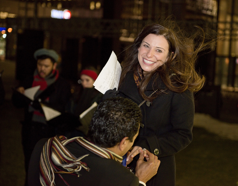 Image 4 of Christmas Eve Marriage Proposal