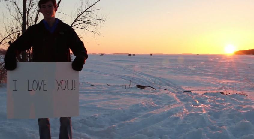 Image 1 of Sarah and Jordan's Super Sweet Marriage Proposal Video