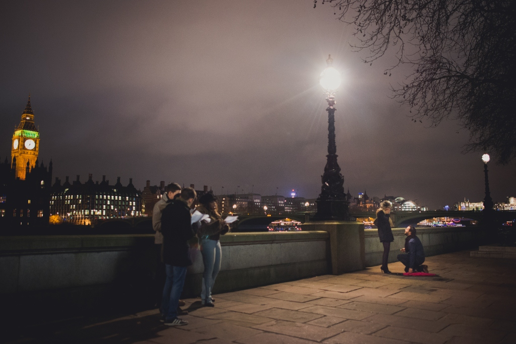 Image 2 of Romantic London Marriage Proposal