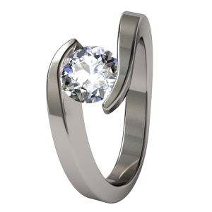 Titanium Engagement Rings and Weddings Bands