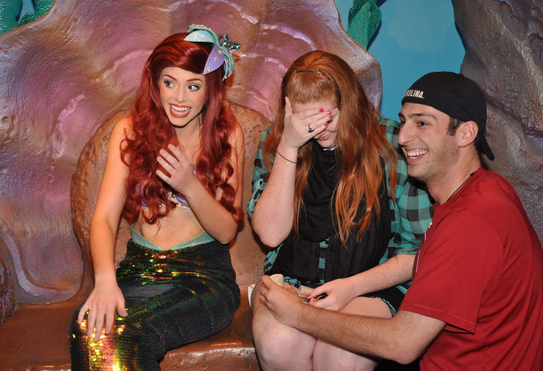 Image 6 of Blaire and Josh | Engaged at Disney