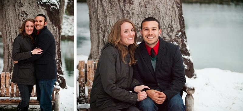 Image 11 of Josh and Natalie | Snowy Surprise Proposal