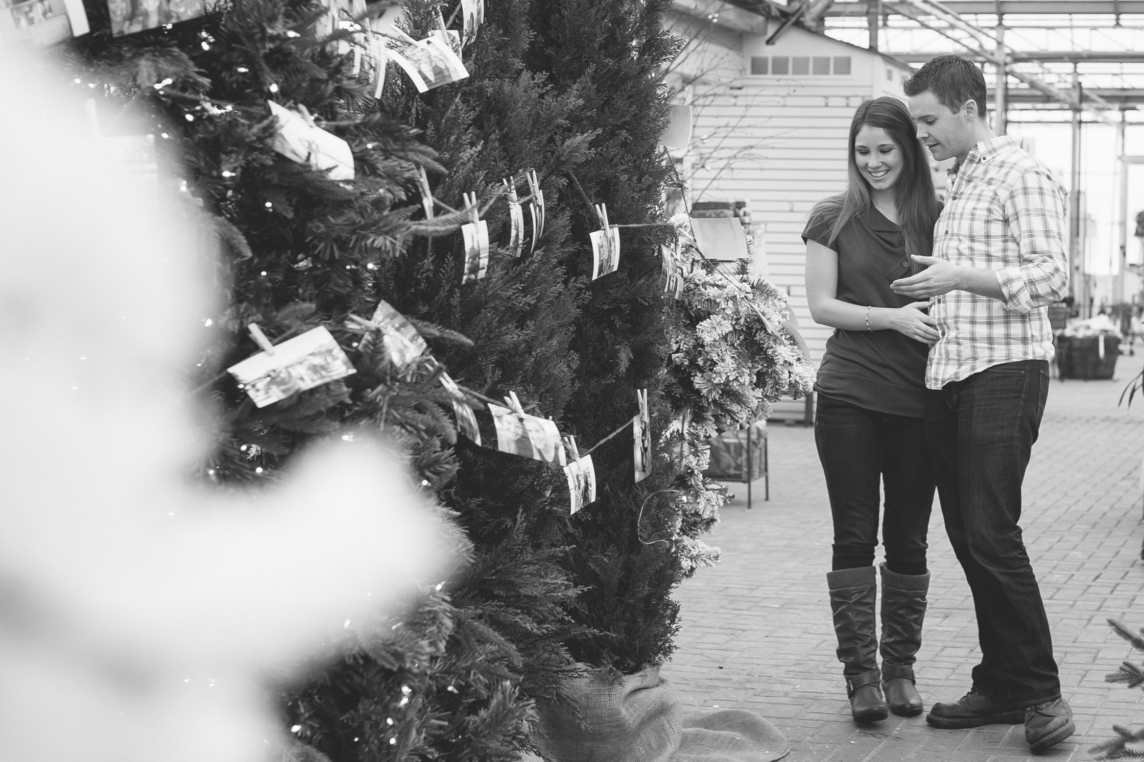 Image 9 of Cutest Christmas Proposal Ever | Brittany  and Tim