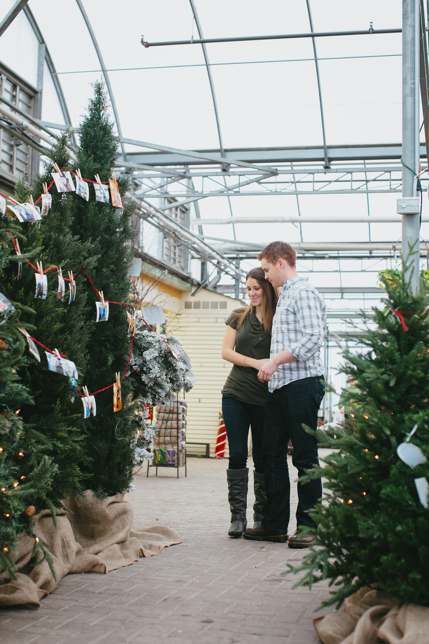 Image 10 of Cutest Christmas Proposal Ever | Brittany  and Tim