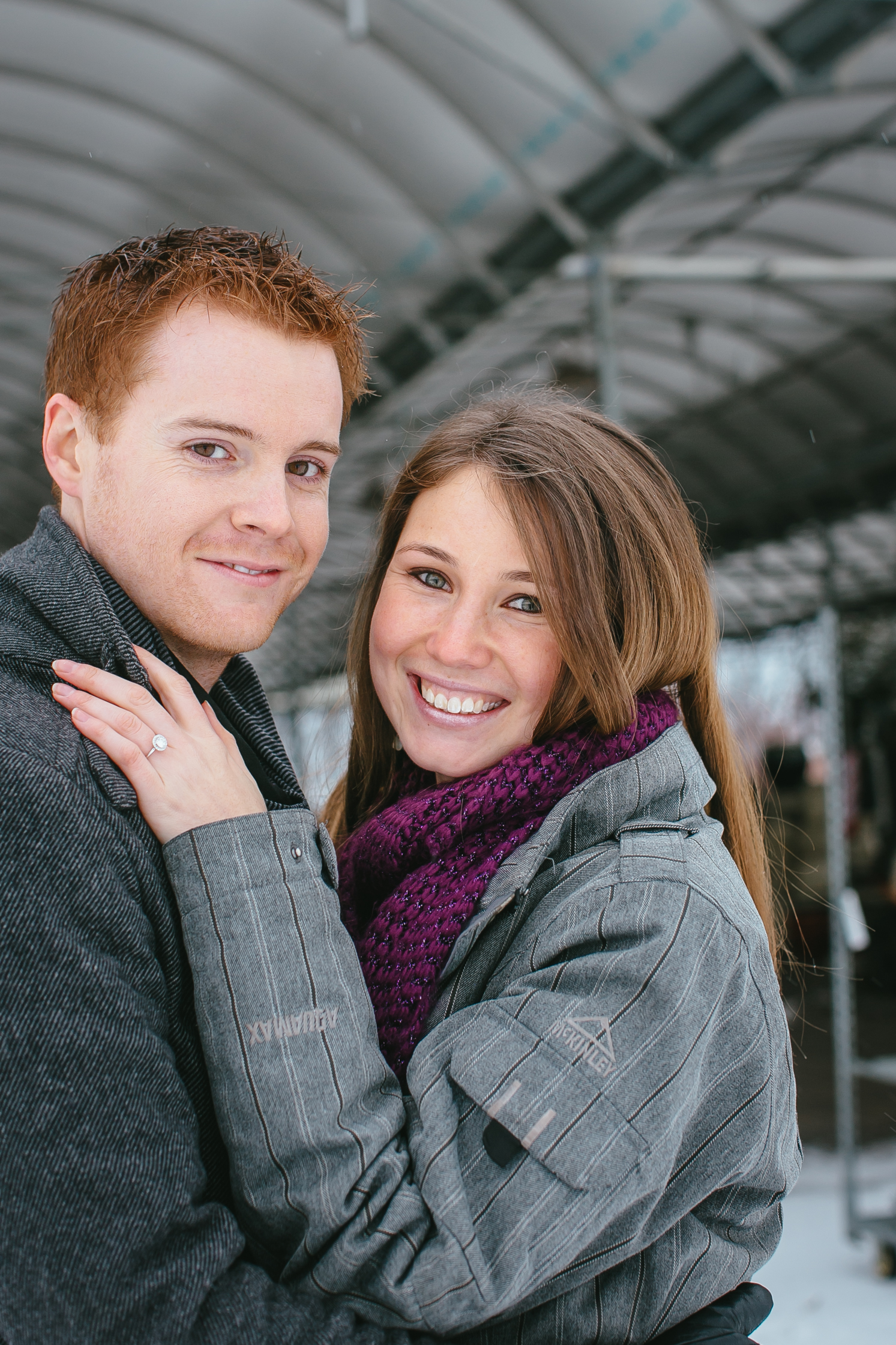 Image 30 of Cutest Christmas Proposal Ever | Brittany  and Tim