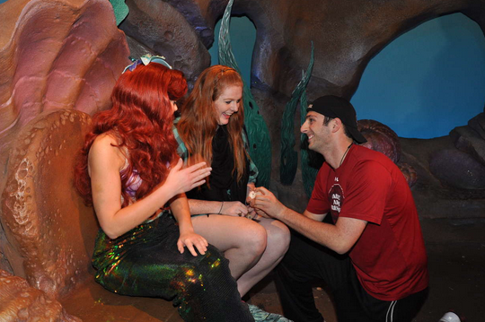 Image 1 of Blaire and Josh | Engaged at Disney