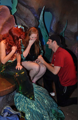 Image 2 of Blaire and Josh | Engaged at Disney