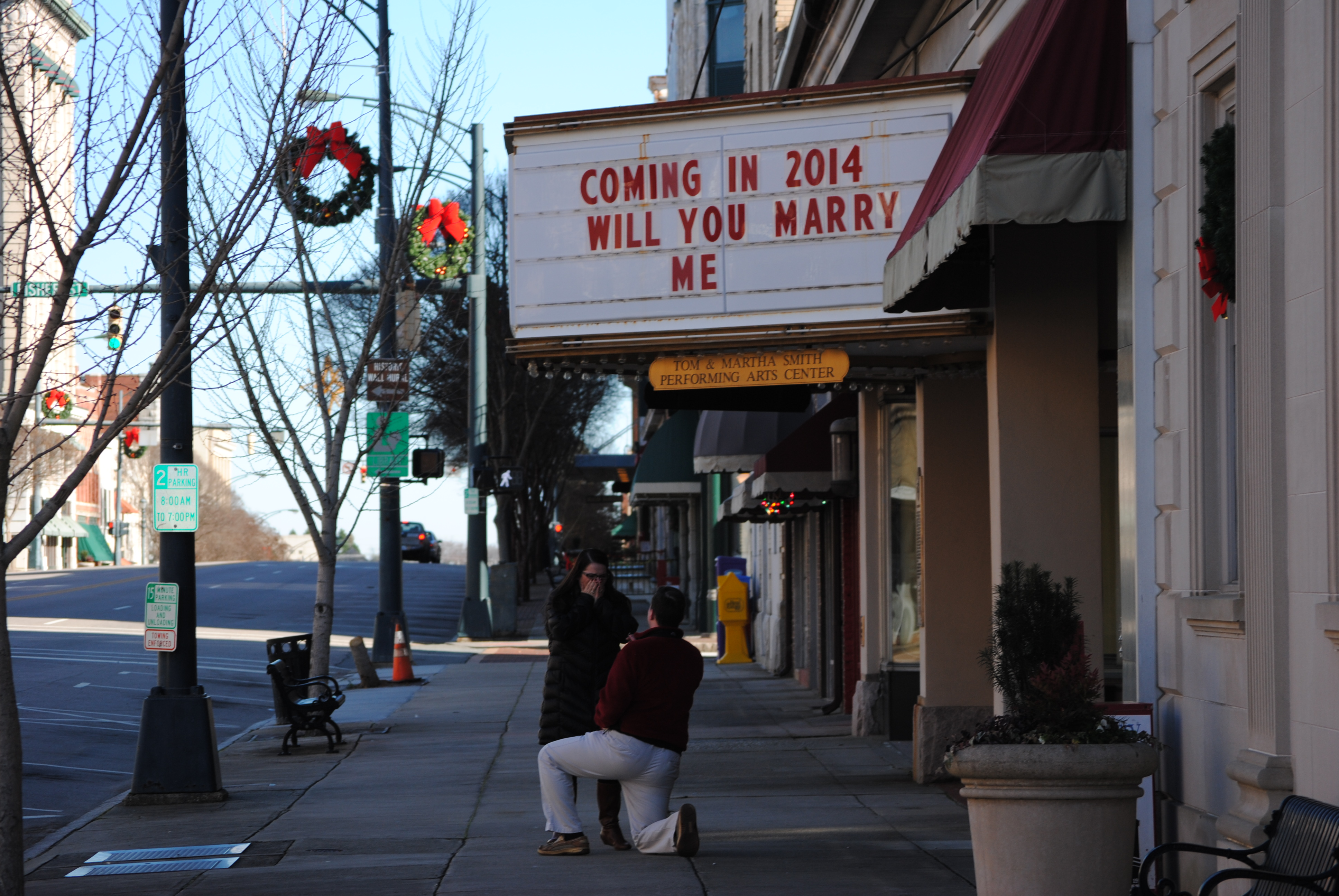 Image 4 of Allison and Addison | Marquee Marriage Proposal
