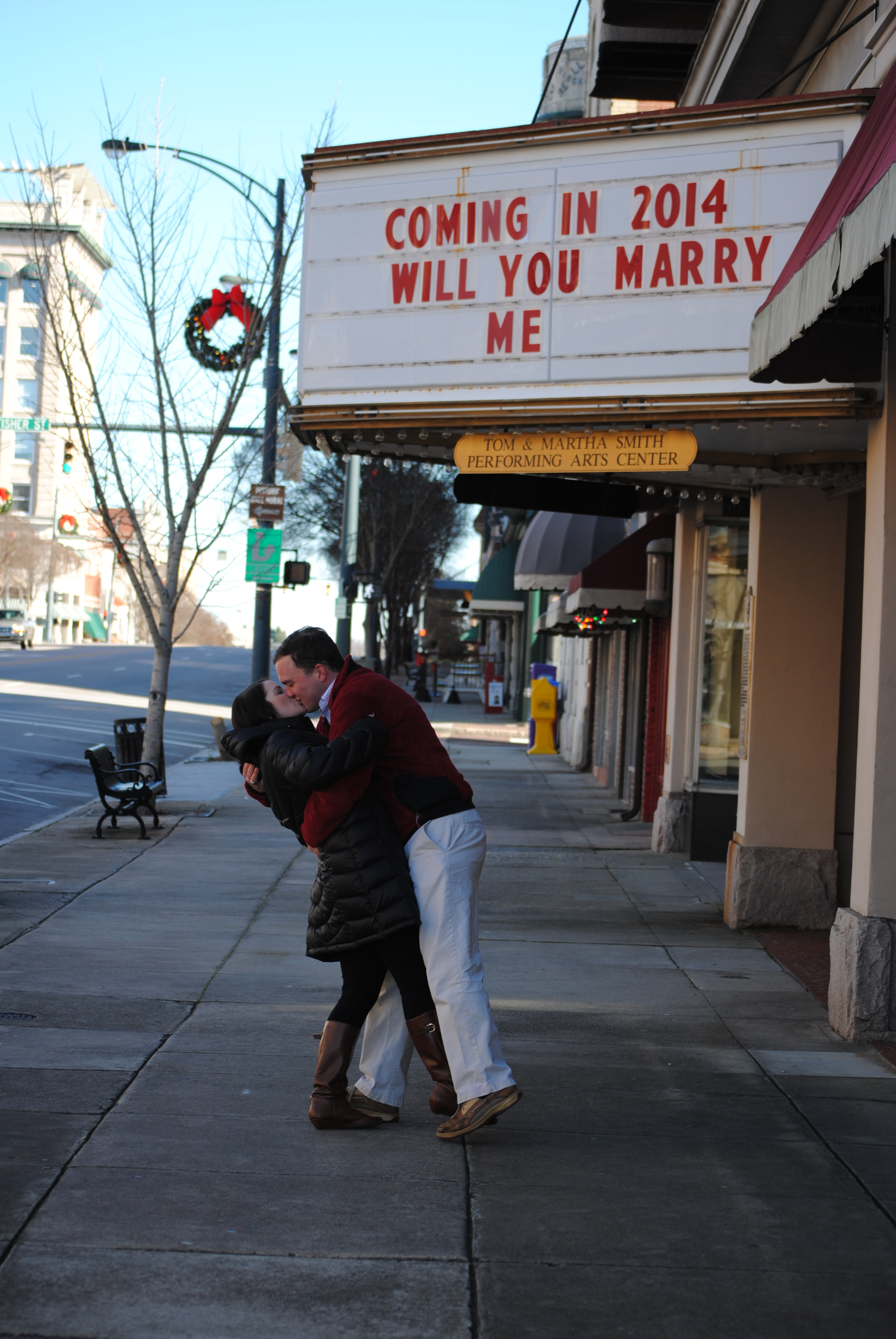 Image 3 of Allison and Addison | Marquee Marriage Proposal