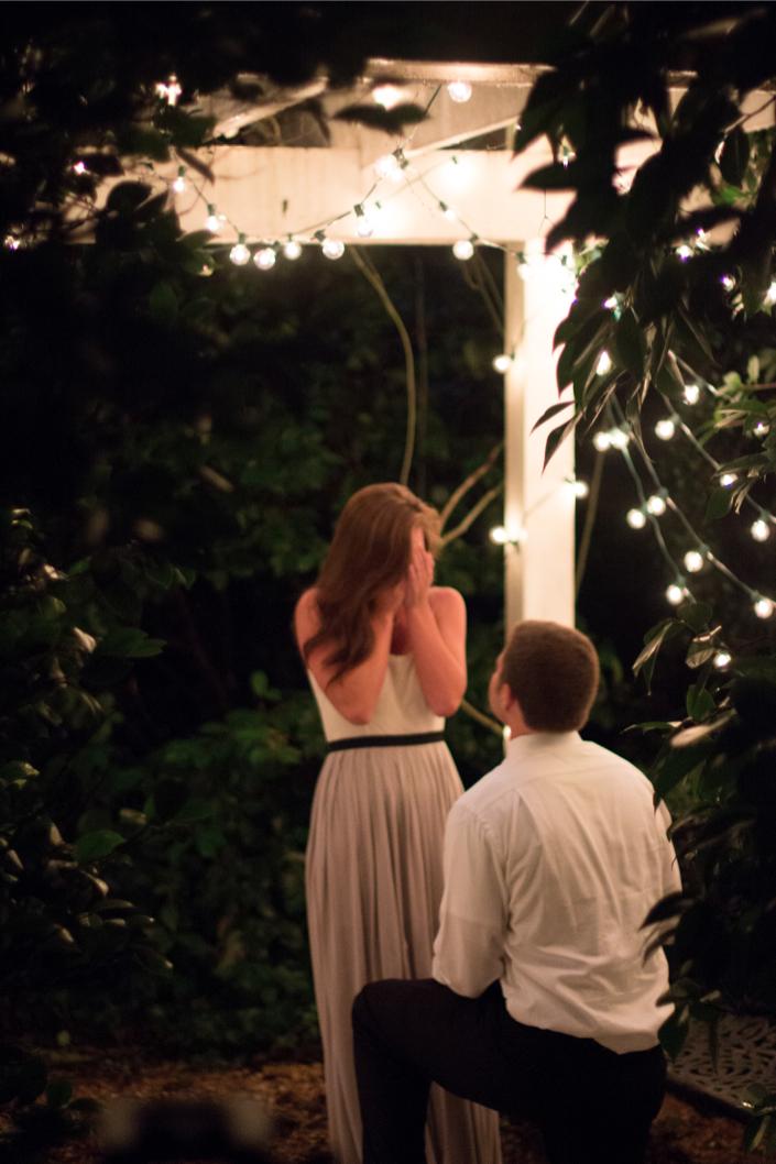 Marriage Proposal in a Beautiful Garden_K+T-12